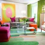 Contemporary Home Decor Tangerine Tango Color The Year For