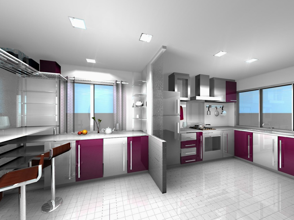 Contemporary Kitchen Sets Design Home And Furniture