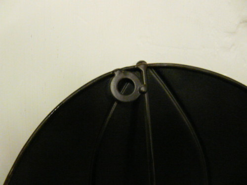 Contemporary Metal Wall Art Two Umbrella Hooks