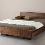 Contemporary Rustic Natural Wood Bed Inspiration Home