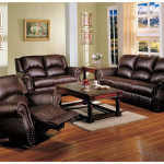Contemporary Small Living Room Brown Furniture Decorating Ideas
