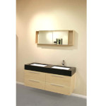 Contemporary Wall Mount Double Vanity Free Shipping