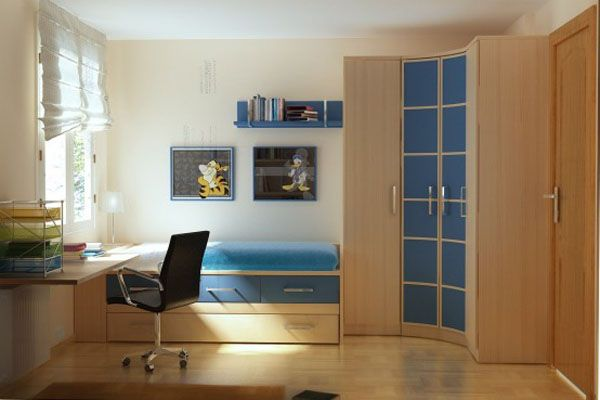 Cool And Contemporary Boys Bedroom Ideas Blue