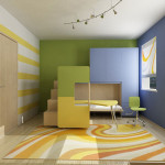 Cool And Full Color Room Design Ideas Bedroom