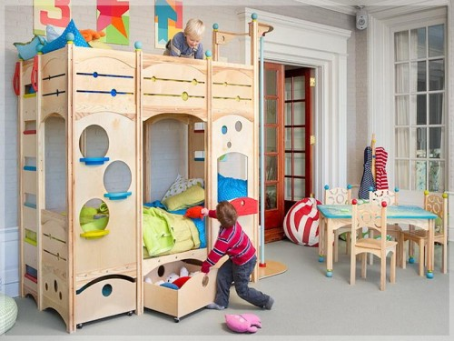 Cool Bunk Beds More Manageable Look And Function Well