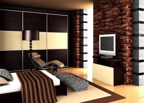 Cool Modern Bedroom Color Schemes Brown