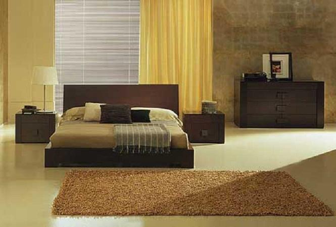 Cool Modern Bedroom Color Schemes Yellow