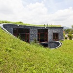 Cool Modern Stone House Vietnam Trong Home Design
