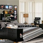 Cool Room Designs For Boys Teen Black Painting