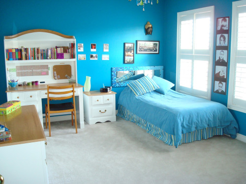 Cool Room Ideas For Teenage Girls Wonderful Blue Girl Bedroom