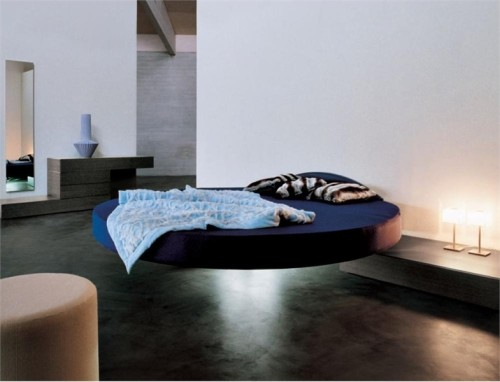 Cool Round Floating Bed Fluttua Lago Digsdigs