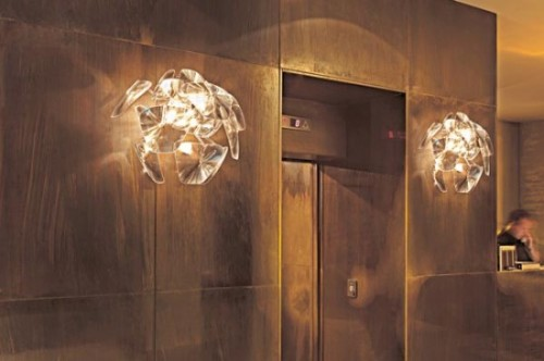 Cool Wall Mounted Chandelier Lighting Design Hope Series Luceplan
