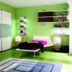 Cool Ways Decorate Your Room Colorful Spacious Design