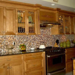 Copper Mosaic Kitchen Tiles Backsplashes Ideas Useful Tips Help You