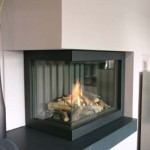 Corner Fireplace Space Efficient See More