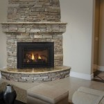 Corner Fireplace Stone Rooms Fire Places