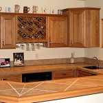 Countertop Tile Wood Design Inspired Your Dream Kitchen