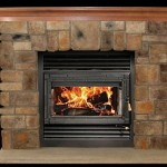 Country Stone Fireplace Design