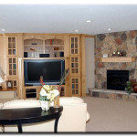 Cozy Corner Stone Faced Fireplace New Home For Sale Aspen