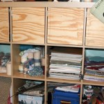 Craft Room Ideas Expedit Shelves From Ikea And Sewing Ide