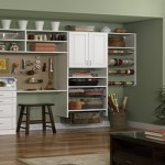 Craft Storage Office Closet Heart Interior Design