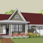 Craftsman House Plans And Bungalow Home Designs Modern Open Floor