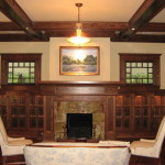 Craftsman Style Bungalow New Living Room Rooms Design