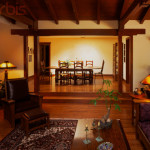 Craftsman Style Living Room Rights Managed Stock