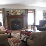 Craftsman Style Meets Traditional Living Room Designs