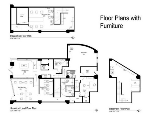 Create Beautiful Salon Floor Plans