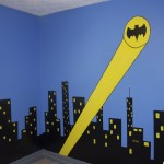 Creative Eyedias Sleeping Gotham City Batman Bedroom
