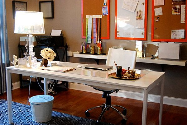 Creative Home Office Decorating Ideas Blinging Work Spaces