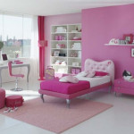 Creative Pink Bedroom Decorating For Girls Ideas Listed