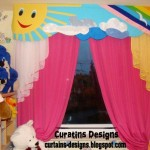 Curtains Colorful Room Summer Curtain Colors Style