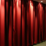 Curtains For Windows Treatments Sound Blocking Color Red