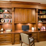 Custom Cabinets And Built Home Theater For Offices