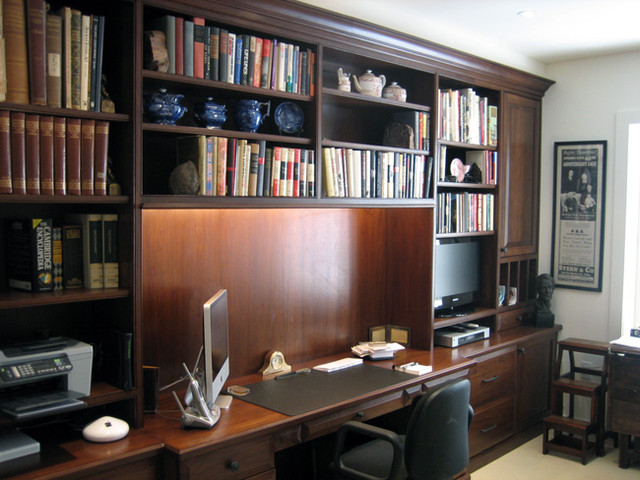 Custom Closet Systems Traditional Home Office
