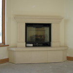Custom Corner Fireplace Distinctive Mantle Design Denver Colorado