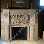 Custom Fireplaces Fireplace Limestone Made Usa
