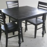 Custom Made Foot Square Kitchen Dining Table Ecustomfinishes