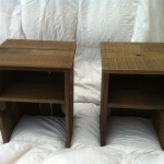 Custom Made Pallet Wood Bedside Table Cute Ideas