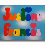 Custom Name Puzzles Rainbow Wooden Two Puzzle