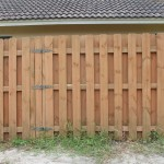 Custom Wood Fence Cover Water Filter