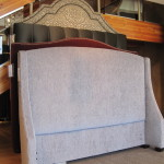 Customized Headboard Plus Upholstered Bed Frame For Complete Look