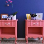 Cute Bedside Tables Tickled Pink