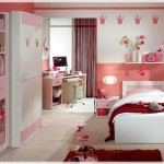 Cute Decoration Ideas Pink Bedrooms For Girls Red Princess Room Image