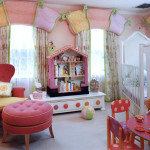 Cute Girl Bedroom Painting Design Ideas