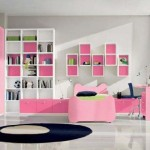 Cute Girls Room Paint Ideas White And Pink Themes