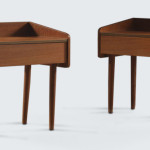 Cute Mid Century Danish Bedside Tables Like These Are Hard Come