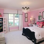 Cute Pink And Black Bedroom Decorations Ideas